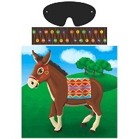 Amscan Pin T Tail on the Donkey Game Party Accessory