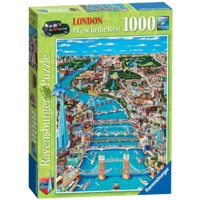 Ravensburger Puzzle - London, a View to the West (1000 pieces)