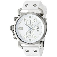 ベスタル Vestal Men's OBCS003 USS Observer Chrono All White Chronograph Watch [並行輸入品]