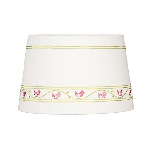 Lolli Living Lampshade, Pink Birds by Lolli Living