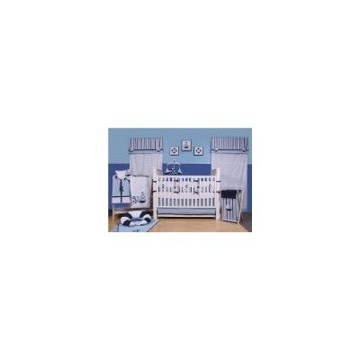 Little Sailor 9pc Crib Set by Bacati