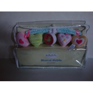 SUMERSAULT SWEET HEARTS MUSICAL MOBILE by Sumersault