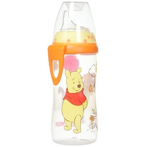 NUK Disney Winnie the Pooh 10 Ounces Active Cup Silicone Spout with NUK Replacement Silicone Spout,...