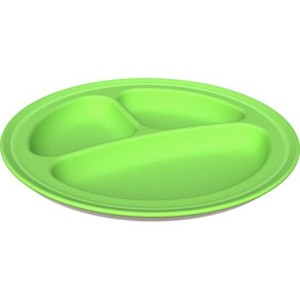 Green Toys Divided Plate - Green - by Green Toys