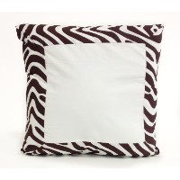 Pam Grace Creations Pillow, Zara Zebra by Pam Grace Creations