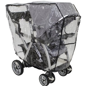 Joovy Caboose VaryLight Rain Cover, Black by Joovy [並行輸入品]
