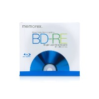 Memorex 25 GB Blu - ray BD - RE 2 x re-writeable