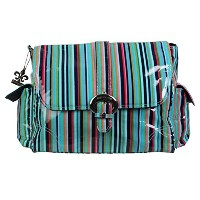 Kalencom Coated Buckle Bag, Dixie Stripes by Kalencom
