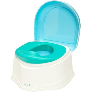 Safety 1st Clean Comfort 3-in1 Potty Trainer - Blue by Safety 1st