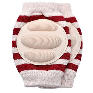 New Baby Crawling Knee Pad Toddler Elbow Pads 805514 Pink-red by YEAHINSHOP