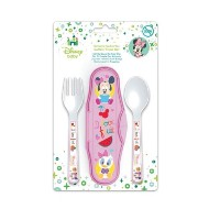 Disney Baby Minnie and Daisy Fork and Spoon Set