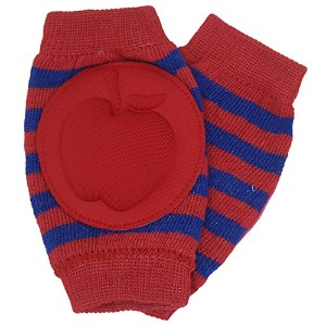 New Baby Crawling Knee Pad Toddler Elbow Pads 8055216 Red-navy by YEAHINSHOP