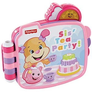 Fisher-Price Laugh & Learn Sis' Tea Party Book [並行輸入品]