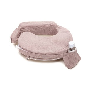 My Brest Friend Nursing Pillow Deluxe Slipcover, Antique, Taupe by Zenoff Products
