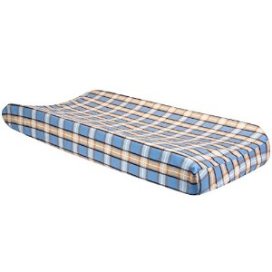 Trend Lab Cowboy Baby Plaid Changing Pad Cover, Cowboy by Trend Lab
