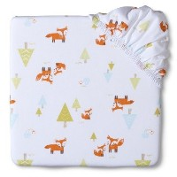 Circo Woven Woodland Fitted Crib Sheet by Circo