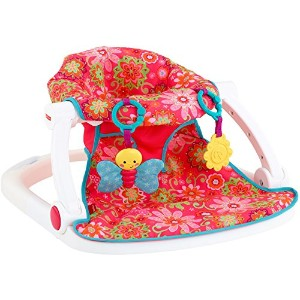 Fisher-Price Sit-Me-Up Floor Seat, Girl by Fisher-Price [並行輸入品]