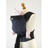 Palm and Pond Mei Tai Baby Sling Carrier - Blue Polka Dot by Palm&Pond