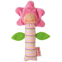 Kathe Kruse - In The Garden - Flower Squeaky Toy by K?the Kruse
