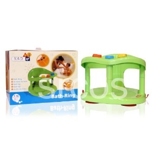 Baby Bath Tub Ring Seat By KETER - Green by KETER [並行輸入品]