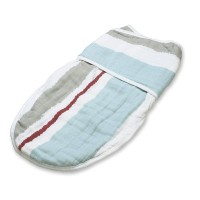aden + anais Easy Swaddle Blanket, Liam The Brave Paintbrush Stripe, Small/Medium by aden + anais ...