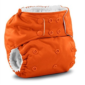 Rumparooz One Size Cloth Pocket Diaper Snap, Poppy by Rumparooz