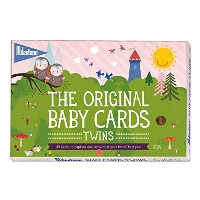 The Original Baby Cards - Twins by Milestone - 48 photo cards in a gift box, especially created for...