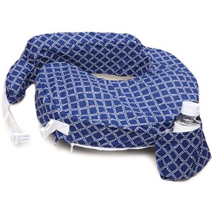 Zenoff Products My Brest Friend Original Nursing Pillow Slipcover, Navy/White by Zenoff Products