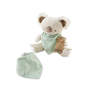 Baby Aspen Outback Jack Koala Plush Plus with Bandana Bib for Baby, Beige/Multi, 0-6 Months by Baby...