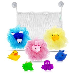 My Rub-A-Dub Bath Caddy Baby Bath Toys Organizer Bundle Set of 9 - Piece by My Rub-A-Dub Bath Caddy