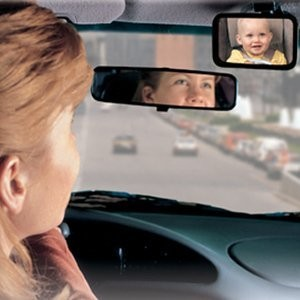 Safety 1st Baby On Board Front or Back Babyview Mirror - 2 Count by Safety 1st
