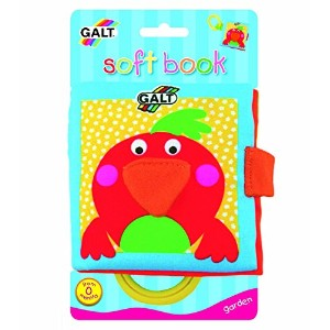 Galt Toys Inc First Years Garden Soft Book [並行輸入品]