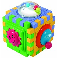 PlayGo 6 Sided Cute Cube [並行輸入品]