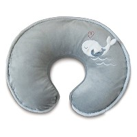 Boppy Nursing Pillow and Positioner, Luxe Chevron Whales/Gray by Boppy [並行輸入品]