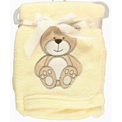 Snugly Baby Teddy Bear Dream Plush Blanket (Cream) by Snugly Baby