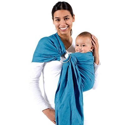 Beco Baby Carrier - Ring - Sling Carrier in Ocean by Beco Baby Carrier [並行輸入品]