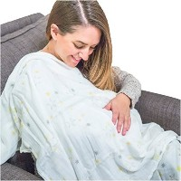 BabyBeeLoved Organic Bamboo Muslin Baby Swaddle Blanket. Soft. Best Gift For New Moms- by Elite...