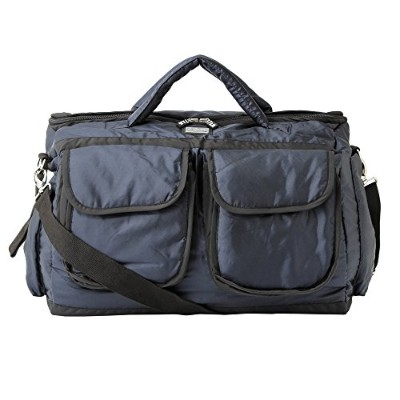 7AM Enfant   【VB001L】 Voyage Bag Large 【size:S、color:metallic prussian blue】 [並行輸入品]