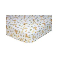 Disney Baby the Lion King Fitted Crib Sheet for Boy or Girl by Disney