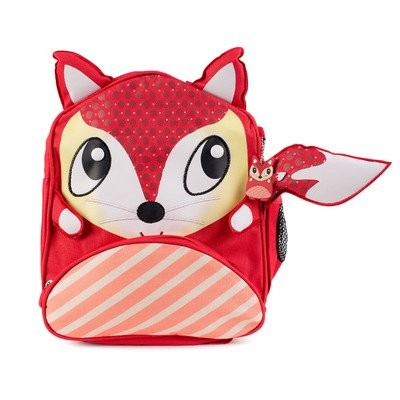 Green Frog Friends Little Kids Backpack, Lunch bag, School bag for Toddlers and Kids, Boys and Girls Cute Fox Design by Green Frog