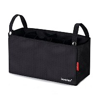 Baby Stroller Organizer Diaper Bag Stroage with 7 Pockets, Black by Baby Lovess