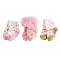 Glitter Princess Sock Set by Mud Pie by Mud Pie