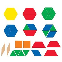 Learning Resources Giant Magnetic Pattern Blocks [並行輸入品]
