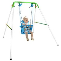 Folding Toddler Indoor & Outdoor Swing Set by Natus