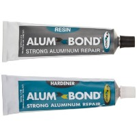 Hy-Poxy H-450 Alumbond 6.5 oz Aluminum Putty Repair Kit by HY-POXY