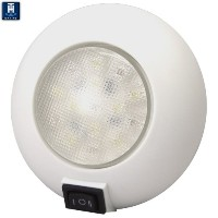 Th Marine led-51830-dpドームライトwithスイッチ、レッド/ホワイトby Th Marine