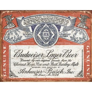 Budweiser Weathered
