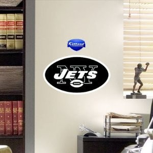 New York Jets Teammate Logo Wall Sticker Decal