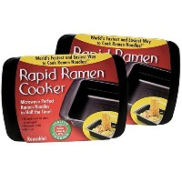 Rapid Ramen Cooker – 電子レンジでラーメンInstant Noodles 3分( Pack of 2 ) ( Packaging May Vary ) by Rapid...