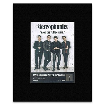 STEREOPHONICS - Keep The Village Alive 2015 Mini Poster - 28x21.5cm